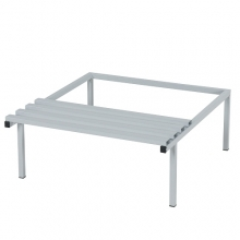 Bench to Z-Lockers, w. 800 mm