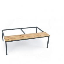 Bench 1185mm, 4x300