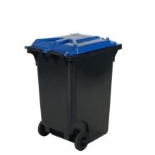 Jätesäiliö 360L, kansi sininen