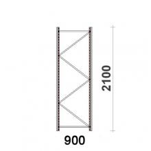 Kevytorsihyllyn pylväselementti 2100x900 mm MAXI