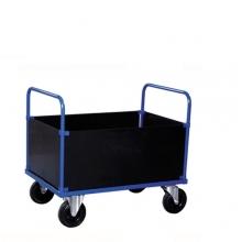 Trolley with box body high 1000x700x900mm, 500kg