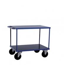 Shelf trolley 2 shelves 1000x700x870mm, 500kg