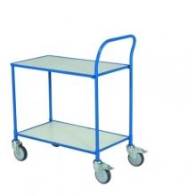 Pöytävaunu kahdella tasolla 830x465x985 sininen