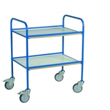 Pöytävaunu kahdella tasolla 766x580x945 sininen