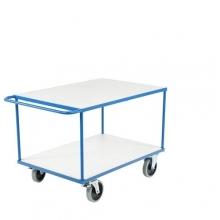 Shelf trolley 2 shelves 1150x700x875mm, 500kg