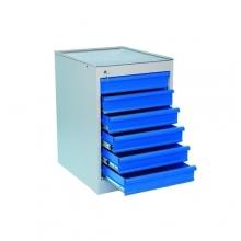 Työkalulaatikosto 6:lla vetolaatikolla 535x665x800