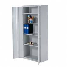 Archive cabinet 4 shelves 1800x800x400 RAL 7035 collapsible