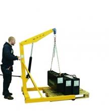 Puominostin, kokoontaittuva SA 1000 kg