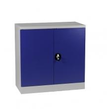 Half-Height Cupboard, 2 shelves 900x900x450 RAL7035/5010