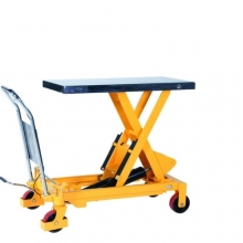 Lifting table with foot pump 1000x510 750 kg