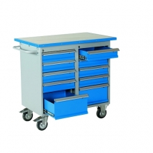 Tool trolley with 10 drawers 1025x600x900