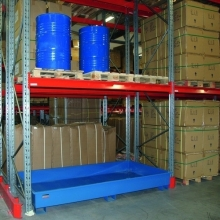 Drum tray standing f. 2 drums 1780x1300x560